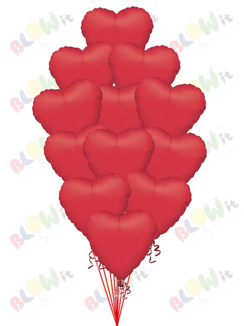 Simply Red Hearts
